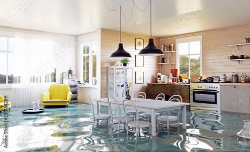 Fotografia, Obraz The modern home interior