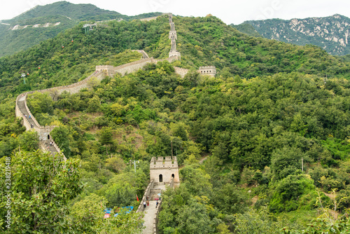 Fototapeta Great Wall of China, Mutianyu site, China