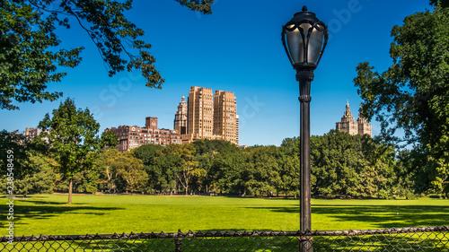 Foto Manhattan upper west side  in Central Park in New York City