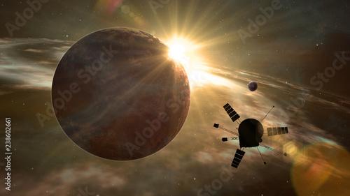 Fotografia, Obraz Space probe exoplanet exploration