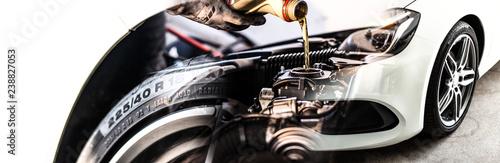 CAR COLLAGE // Mechanic - Tire - Engine Oil - Service // KFZ Service Grafik