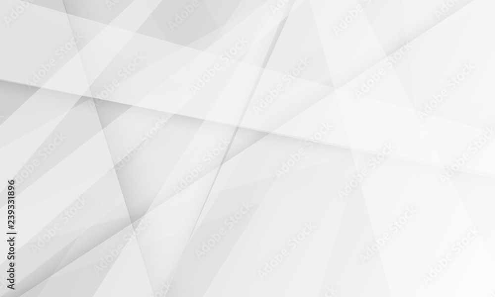 white and grey background. space design concept. Decorative web layout or poster, banner.