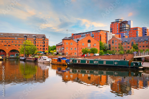 Photo Castlefield, an inner city conservation area in Manchester, UK