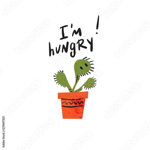 Stampa su Tela I am hungry