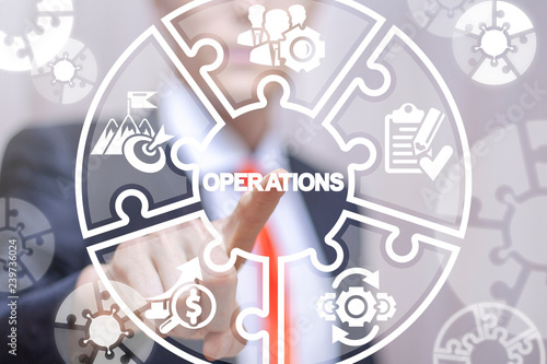 Fotografia Operations business success work concept