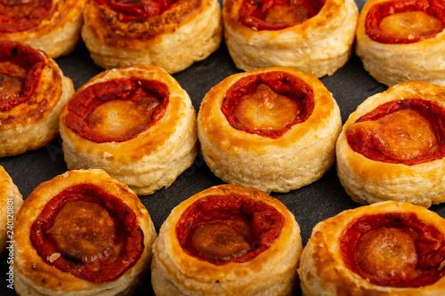 Pizzette da antipasto e buffet