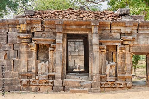 Ancient Monastery In Polonnaruwa