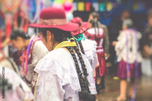 Valokuva Dancers at Sucre Carnival in Bolivia.
