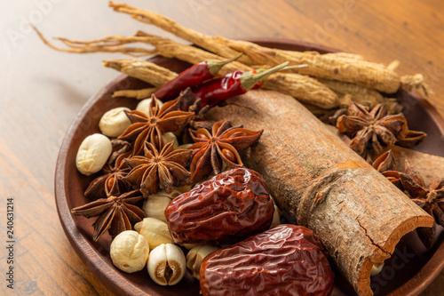 漢方 薬膳材料  Materials of the Chinese medicine
