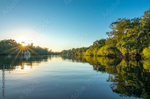Obraz na płótnie Suwannee River, Gilchrist County, Florida