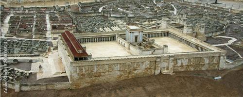 Fényképezés Model of the Second Temple