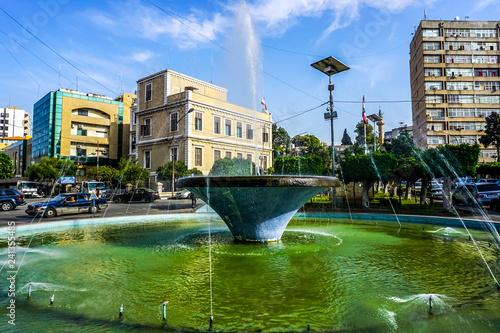 Tripoli Park Fountain