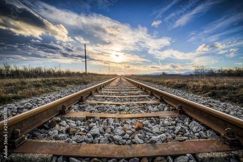 Obraz na płótnie Train