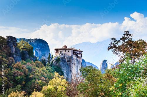 Fototapeta premium Klasztor św. Nicholas Anapausas Meteora, Grecja
