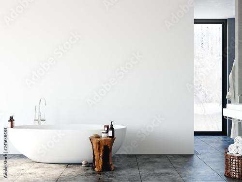 Tableau sur Toile Bathroom interior