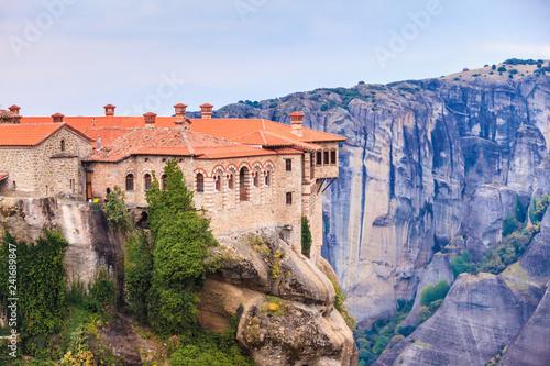Fototapeta premium Klasztor Varlaam w Meteory, Grecja