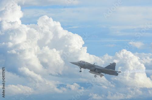 Obraz na płótnie Gripen fighter aircraft
