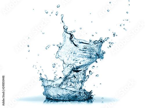 Fotografia Blue water splash