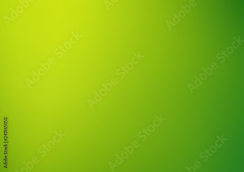 Abstract green blur background
