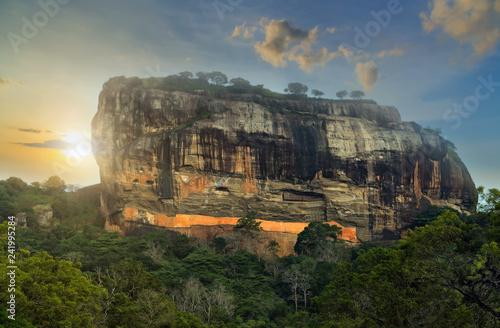Canvas Print Sigiriya Rock Fortress Sri Lanka