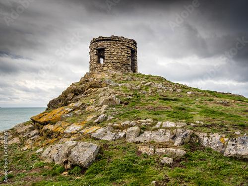 Obraz na plátne Abereiddy Tower. Pembrokeshire.