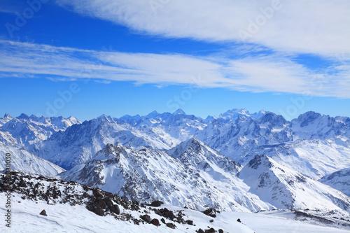 Fototapeta premium główny grzbiet Kaukazu