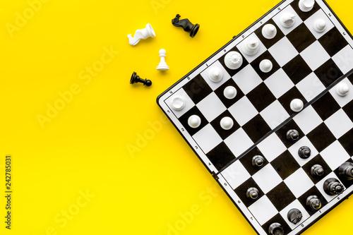Obraz na płótnie Chess game concept