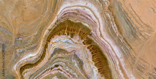 agate, tribute to Pollock, abstract photography of the deserts of Africa from the air, aerial view, abstract expressionism, contemporary photographic art,