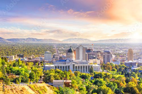 Obraz na plátně Salt Lake City, Utah