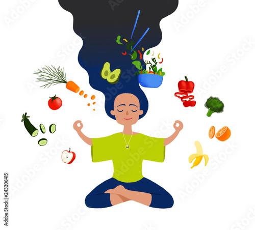 keep the balance of food and health