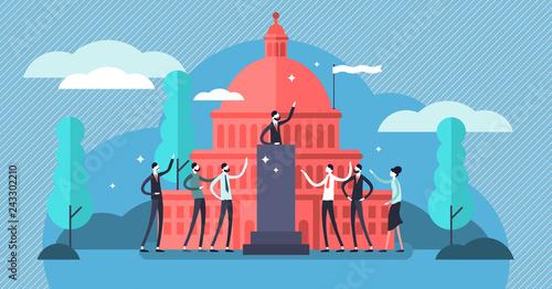 Government vector illustration Fototapet