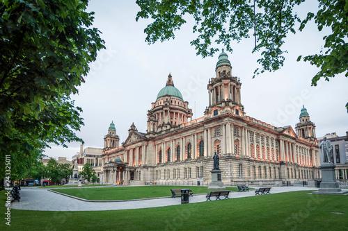 Slika na platnu Belfast City Hall, Northern Ireland, UK