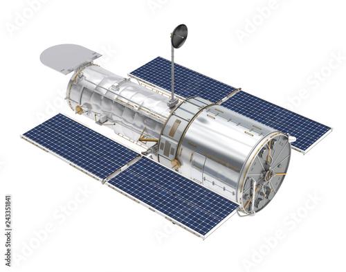 Obraz na plátne Hubble Space Telescope Isolated
