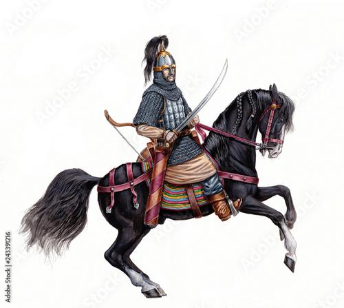 Photo Mounted knight