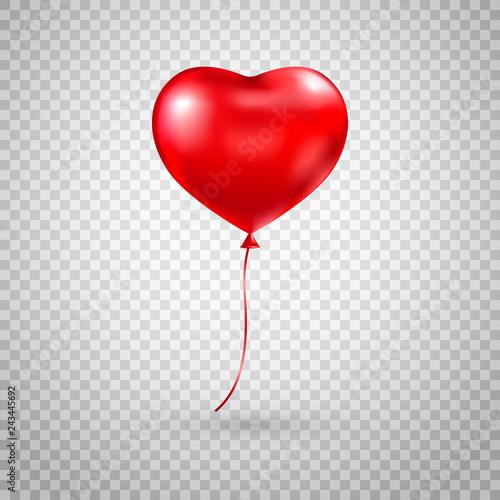 Heart balloon Fototapet