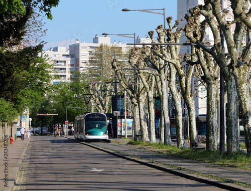 Strasbourg Tramway - Boulevard de la Victoire