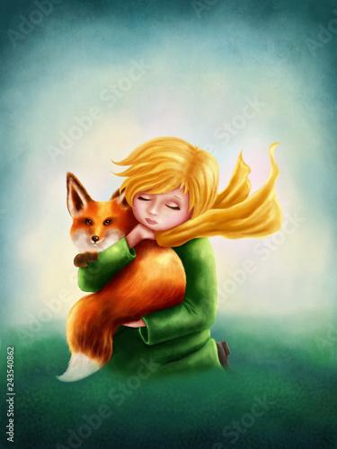 Little Boy and Fox