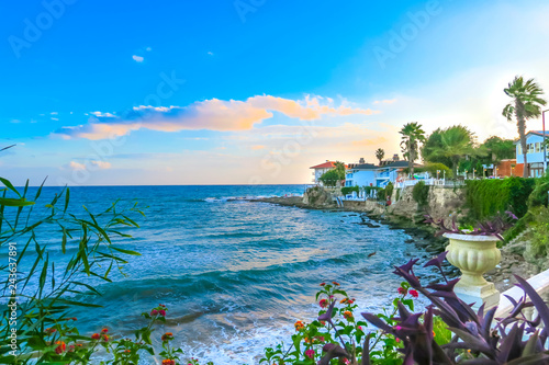 Fototapeta premium Plaża w Antalyi w Turcji