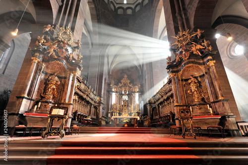 Hochaltar von Johann Balthasar Neumann, Wormser Dom St Fototapete