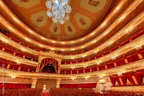 Obraz na plátně Bolshoi Theater - Moscow, Russia