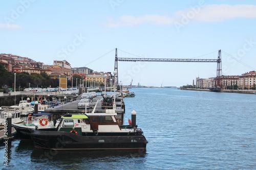 The Vizcaya Bridge, Bilbao, Spain