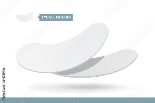 Fotografia Eyelash Extension Application Tools and Supplies