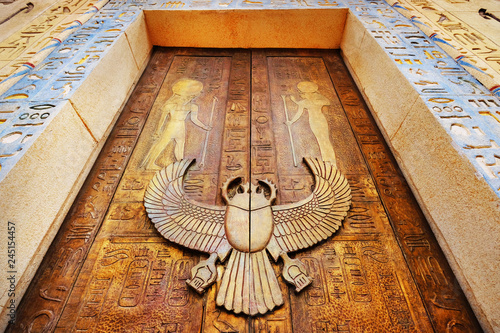 Fotografiet Ancient egypt scene