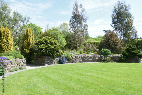 Foto A perfect English country garden