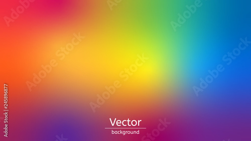 Tablou Canvas abstract color rainbow background