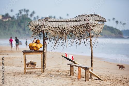 Canvas Print Idyllic day on the beach