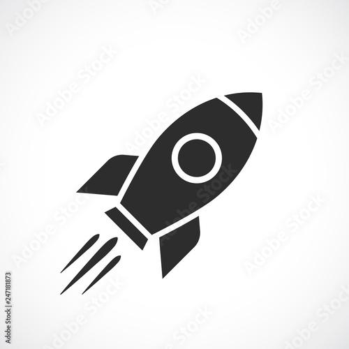 Stampa su Tela Space ship vector icon