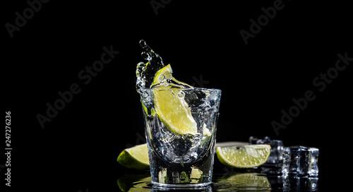 Fotografia Mexican tequila splash