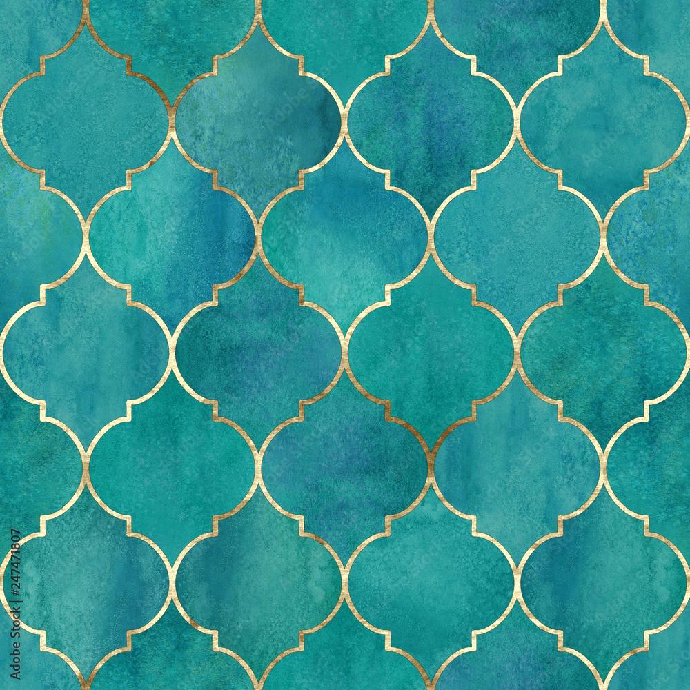 Vintage dekoracyjne nieczysty indyjski, marokański wzór <span>plik: #247471807 | autor: Olga</span>