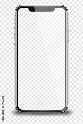 Realistic smart phone. #247732479